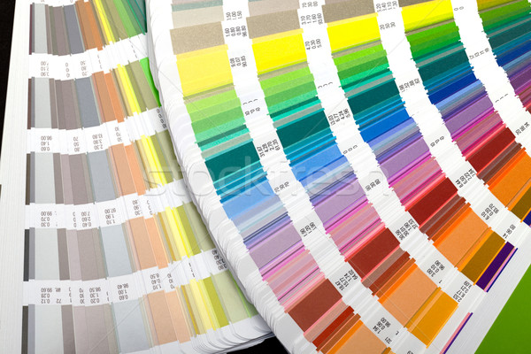 color guide swatch Stock photo © Discovod