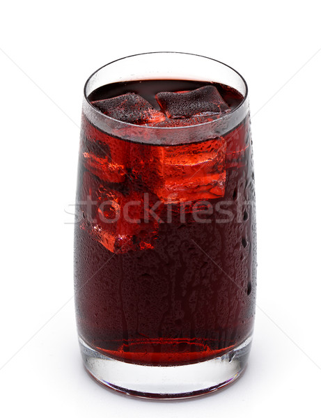glass cup filled with fresh tasty sangria Stock photo © Discovod