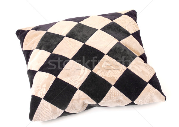 Throw Pillow with a Checkerboard Texture Stock photo © Discovod