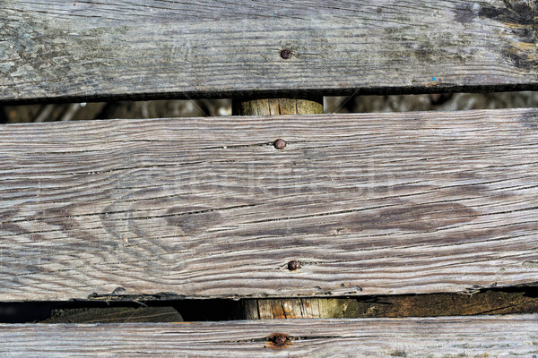 Old Gray Wood Planks with Texture Stock photo © Discovod