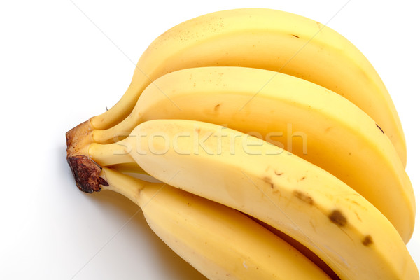バナナ 白 フルーツ 熱帯 黄色 ストックフォト © Discovod