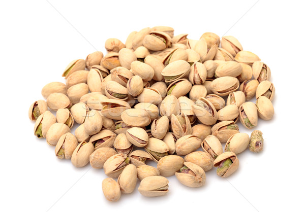 Tas blanche alimentaire fond jaune semences Photo stock © Discovod