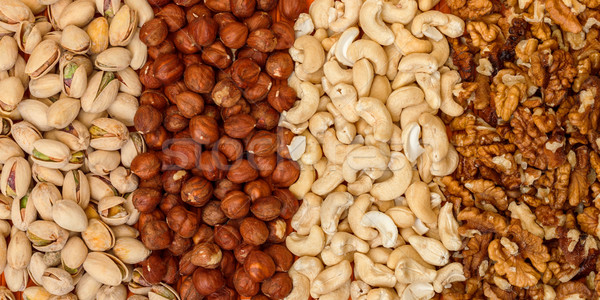 Mix of Nuts Stock photo © Discovod