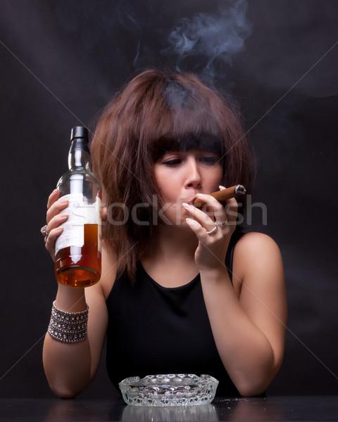 Алкоголь и курение женщины