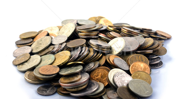 A handful of coins Stock photo © Discovod