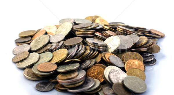 コイン 白 孤立した お金 ストックフォト © Discovod