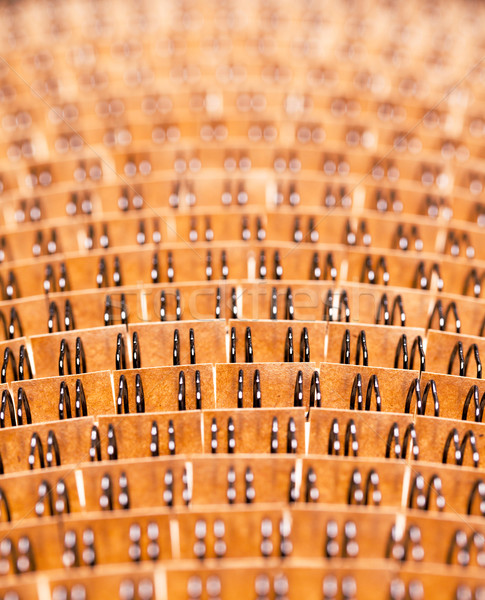Abstract backdrop from binding wire Stock photo © Discovod