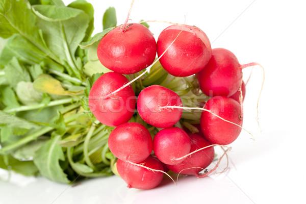 大根 葉 白 自然 野菜 新鮮な ストックフォト © Discovod