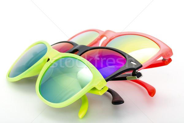 Few Very Bright Sunglasses Eyewear Stock photo © Discovod