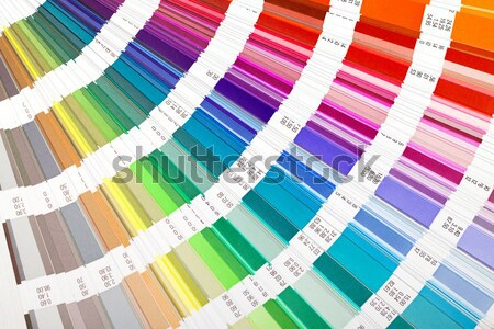 Open Color Guide Swatch Stock photo © Discovod