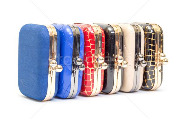 Set of fashionable female handbags Stock photo © Discovod