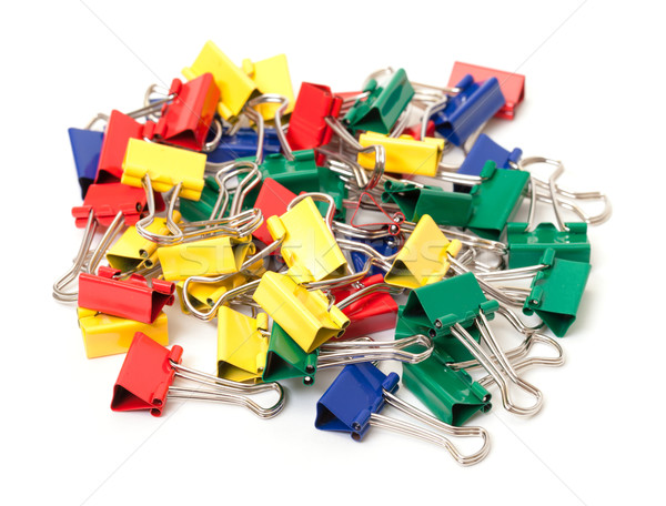 Multicolored Paper Clips Stock photo © Discovod