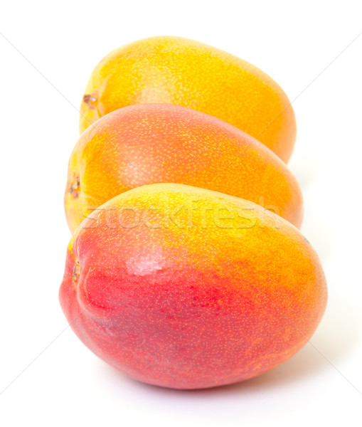 Few Fresh Mango Stock photo © Discovod
