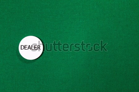Poker dealer chip Stock photo © Discovod