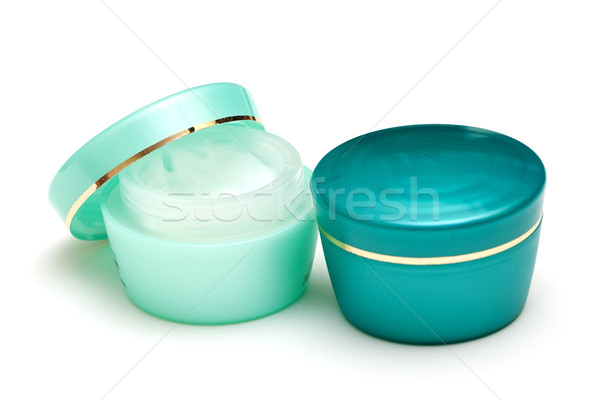 Photo stock: Soins · de · la · peau · photo · blanche · santé · beauté · groupe