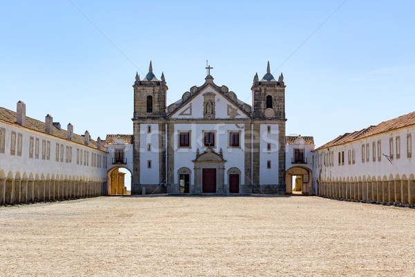 Kompleks budynku lata ocean kościoła kultu Zdjęcia stock © Discovod