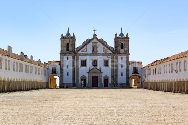 Sanctuary Complex Santuario de Nossa Senhora do Cabo Espichel Stock photo © Discovod