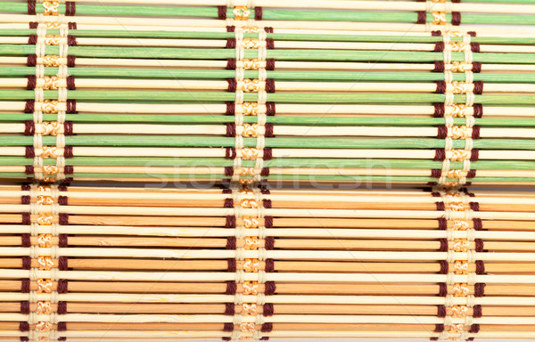 Green and Yellow Bamboo Matt Stock photo © Discovod