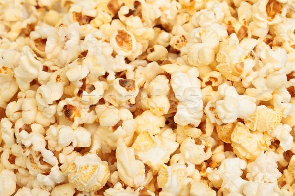 попкорн фото желтый фон кукурузы Сток-фото © Discovod