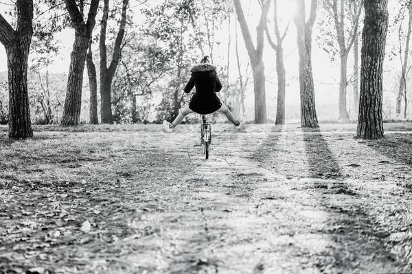 Kadın binicilik bağbozumu eski İtalyan stil Stok fotoğraf © DisobeyArt