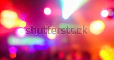 Borroso disco club original láser color Foto stock © DisobeyArt