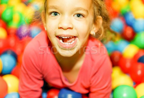 Güzel kadın çocuk çocuklar Stok fotoğraf © DisobeyArt