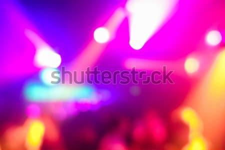 Wazig mensen disco club origineel laser Stockfoto © DisobeyArt