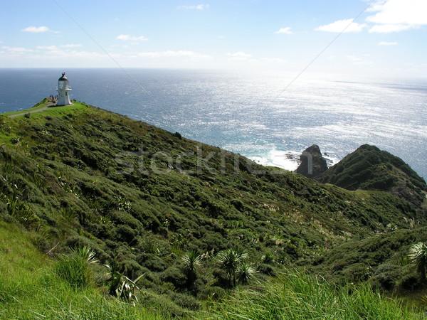 Cape Reinga Lighthouse Stock photo © disorderly