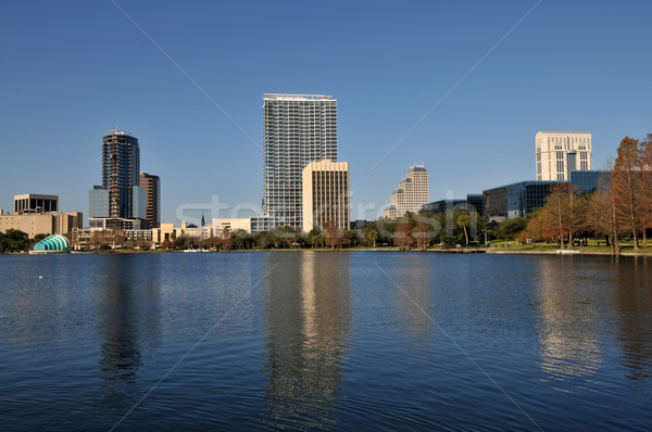Lake Eola Stock photo © disorderly