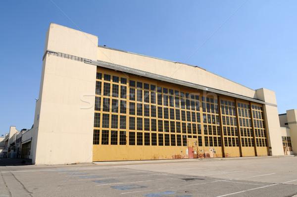 Hangar Stock photo © disorderly