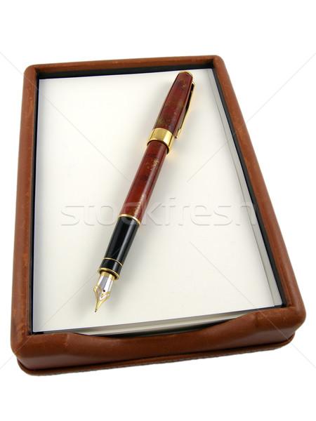 Pen & paper Stock photo © disorderly