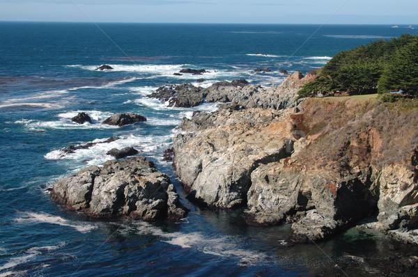 Coastal rocks Stock photo © disorderly