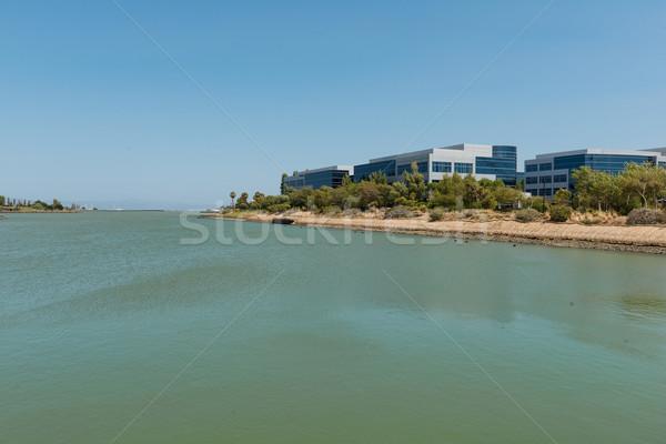 Bürogebäude Auster Punkt Süden San Francisco Kalifornien Stock foto © disorderly