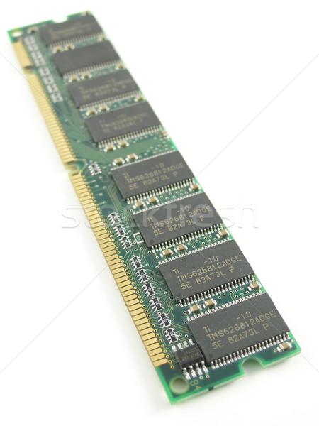 Carnero memoria módulo ordenador portátil escritorio Foto stock © disorderly