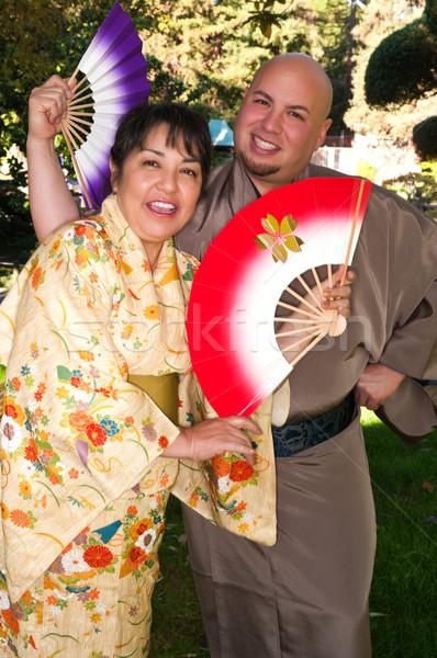 Kimonos Stock photo © disorderly
