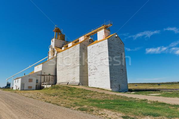 Grain elevator Stock photo © disorderly