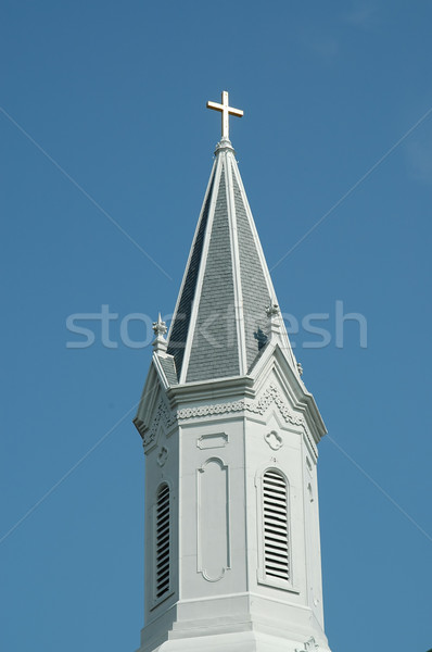 Church steeple Stock photo © disorderly