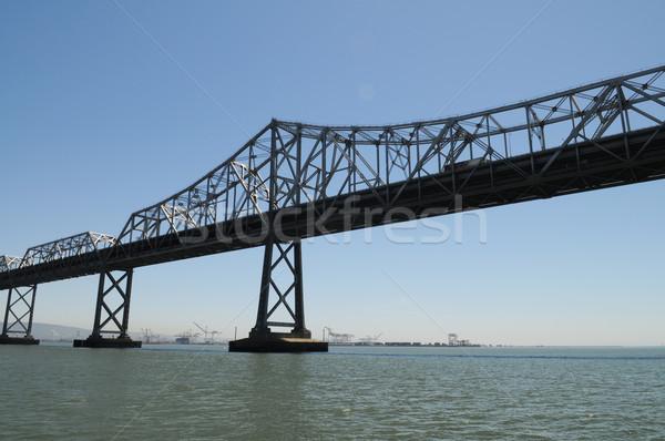 Köprü San Francisco ada su yol Stok fotoğraf © disorderly