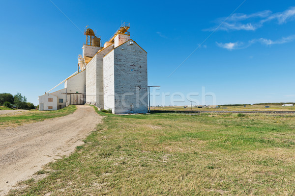 Grain elevator Stock photo © disorderly