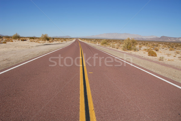 Lonely highway Stock photo © disorderly