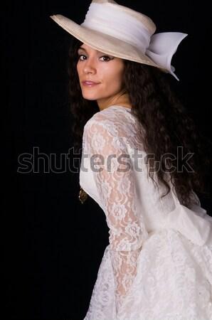 Chinese vrouw mooie jonge sexy haren Stockfoto © disorderly