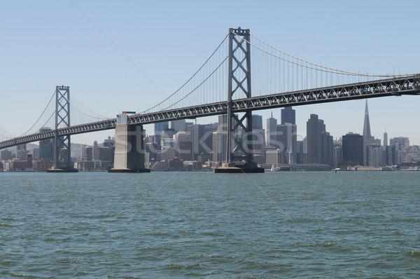 Köprü San Francisco şehir arkasında su yol Stok fotoğraf © disorderly