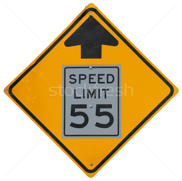 Speed Limit Drops Stock photo © disorderly