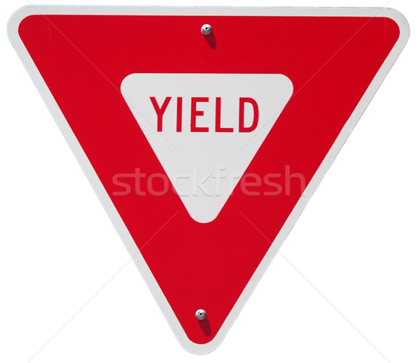 Yield Stock photo © disorderly