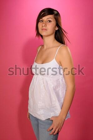Singaporean woman Stock photo © disorderly