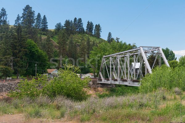 Stock photo: Trestle