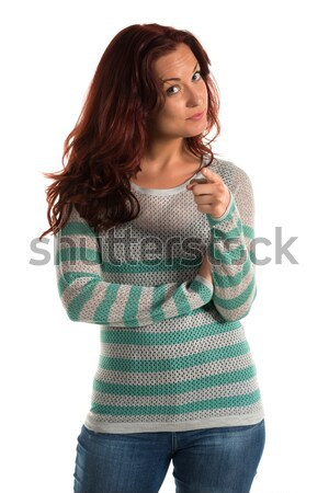 Striped sweater Stock photo © disorderly