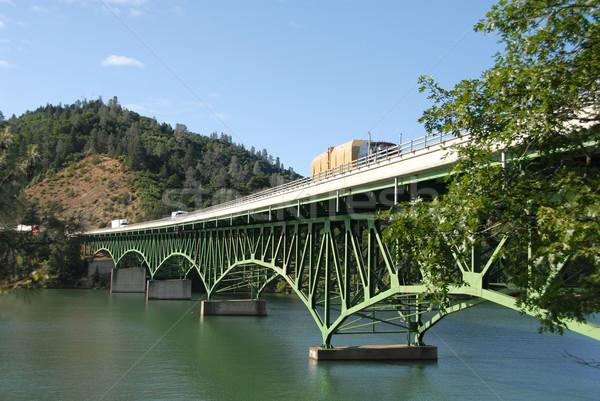 Interstate bridge Stock photo © disorderly