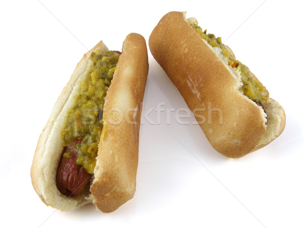 Hot dogs Stock photo © disorderly