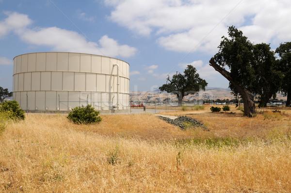 Fuel storage tank Stock photo © disorderly
